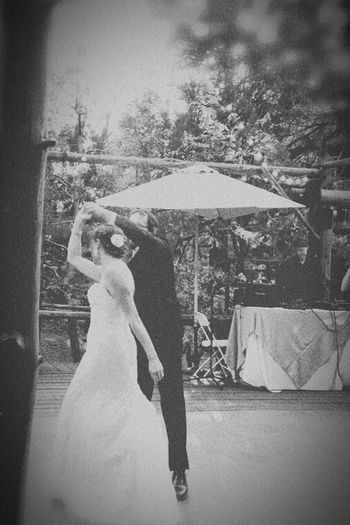 The Action Photographer - 2015 EyeEm Awards Dancing Through Life Bride And Groom First Dance As Husband And Wife B&W Portrait Black & White People Watching