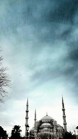 Istanbul Turkey Sultanahmetcamii Sultanahmetmosque