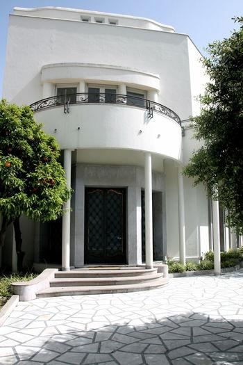 Architecture Architecture_collection Art Deco Art Deco Architecture Avenue De La Liberté Façade No People Tunis Ville Nouvelle