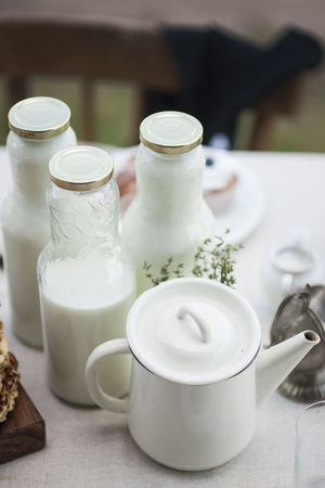 Bowl Close-up Day Drink Food Food And Drink Freshness Healthy Eating Indoors  Milk No People Table