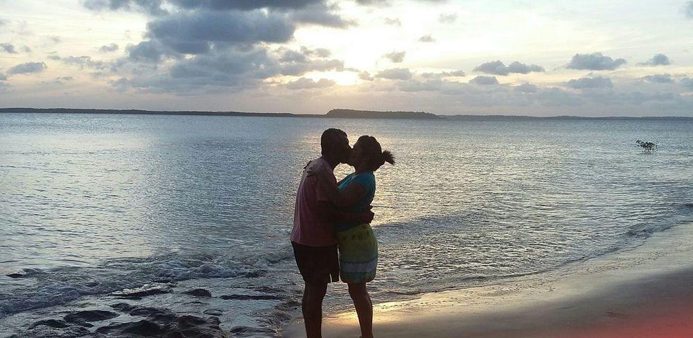 Por do sol, Ilha do Livramento MA BR