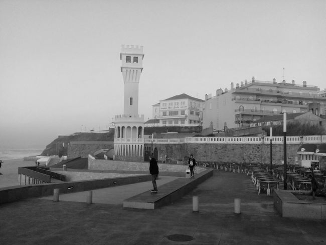 Walking Around Seaview Skate From Another Point Of View My Beautiful Place Blackandwhite Monocrome Portugal Is Beautiful
