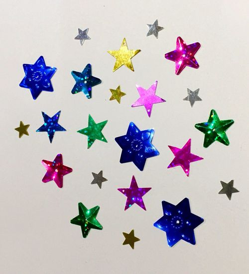 Star's Amazing Spezial Glitter Multicolors  Multi Colored Stars Star Celebration Variation No People Large Group Of Objects Indoors  Multi Colored Close-up White Background Day EyeEm Ready