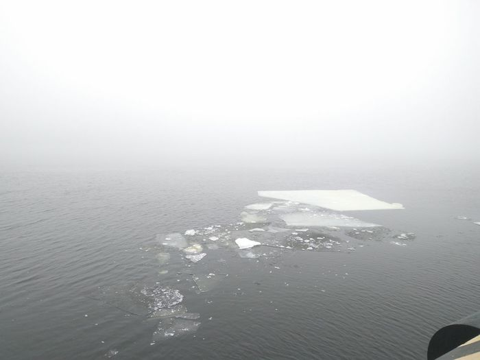 Beauty In Nature Cold Temperature Day Fog Ice Nature Scenics Water Winter