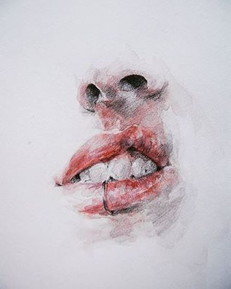 Drawing Art Mouth Lips Lipring Nose Like Toomuchfood Follow Instagood Instamood Nice Fun All_shots Artpeople Human ShortProblems Trend Ohwell Thisisme Tagsforlikes Aydi Morning Haveagoodday Halloween