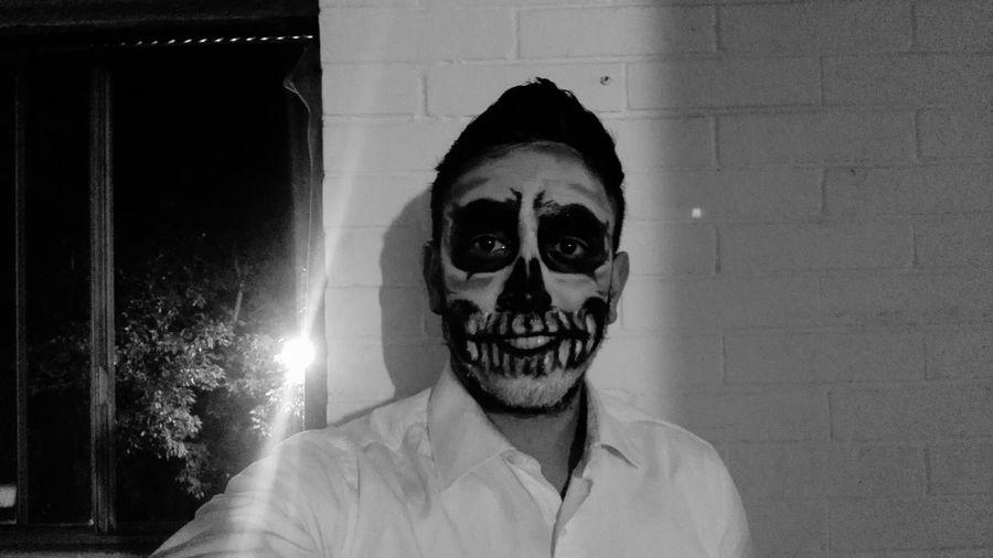 Diademuertos Diadelosmuertos Disfraz Maquillaje Personaje Scary Face