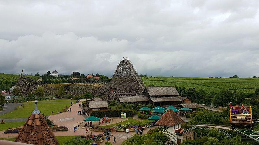 Roller Coaster Mammut Achterbahn G'sengte Sau Erlebnispark Tripsdrill