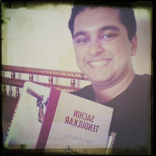 PlayingItMyWay SachinTendulkar But mom says i cant read till boards r over?.. Yeah right?