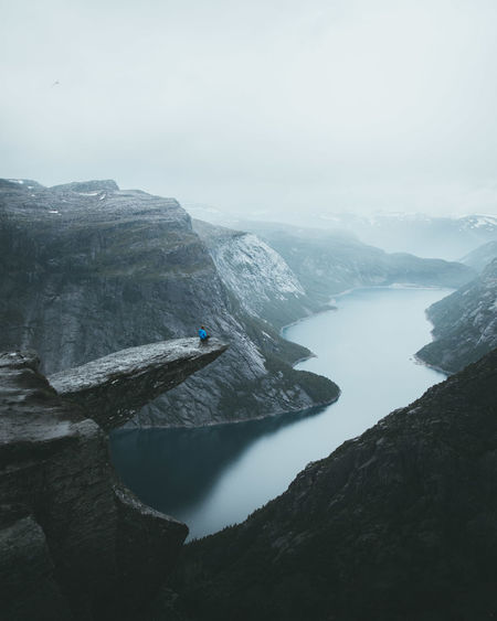 Adventure Club Landscape_Collection Nature Nature Photography Adventure Beauty In Nature Cliff Day Extreme Sports Fog High Angle View Landscape Mountain Mountain Range Nature Nature_collection Outdoor Outdoor Photography Outdoors Real People Rock - Object Scenics Sky Tranquility Water