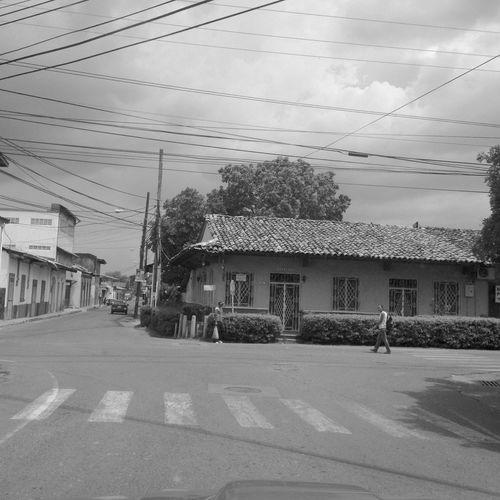 Streetphotography Black And White Panamá Casas Historicas
