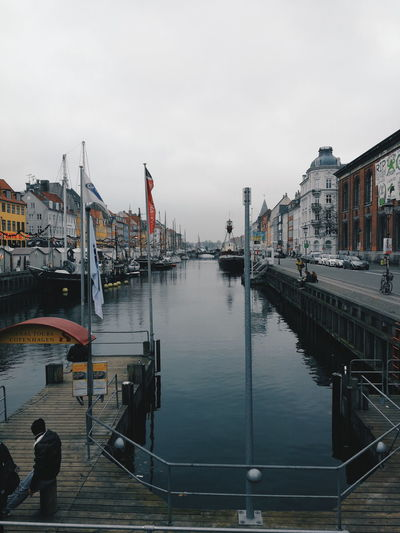 Water City Day Architecture Outdoors No People Sky Building Exterior Cityscape Copenhagen Denmark