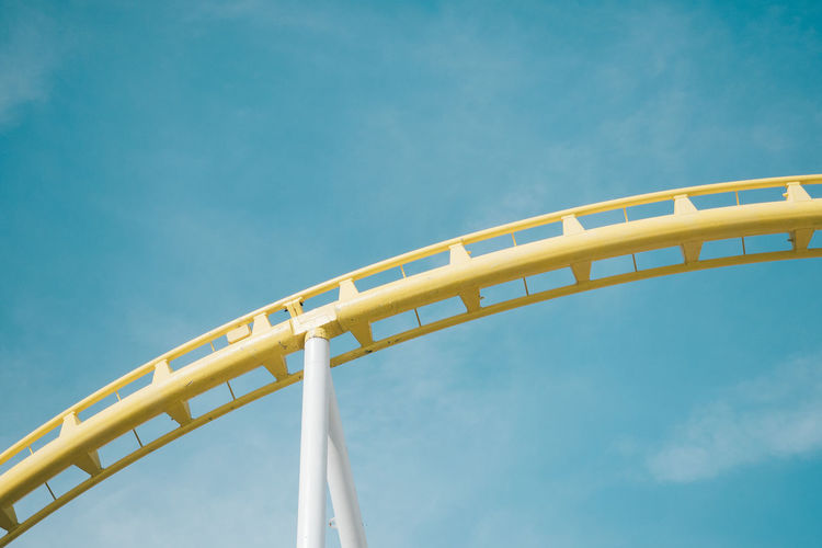 yellow curve of