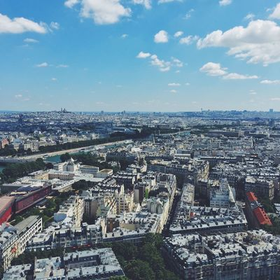 View City Cityscape Sky Aerial View Outdoors Paris View