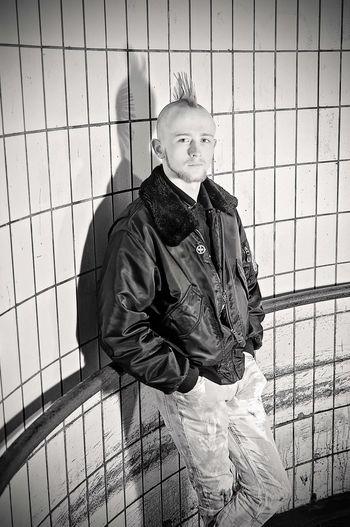 Lifestyles Male Mohawk Mohican Music Oi! Portrait Punk Punk Style