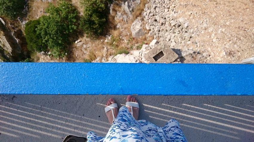 Bridge Edge Blue Line Dress Rocks
