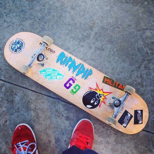 The Hundreds Skateboarding Skatelife New Deck