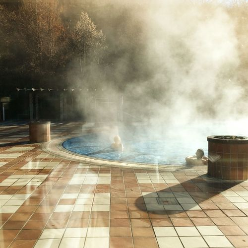 It's Cold Outside Spa Swimming Pool Water Outdoors