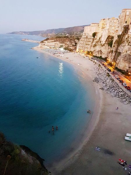 Aerial View Water Sea Outdoors Beach Harbor Landscape Day Italy❤️ Summer Sky Cloud Travel Travel Destinations Beautiful ♥