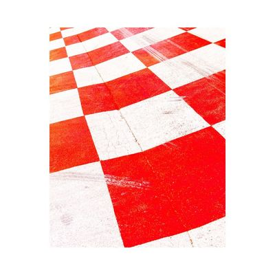 Red White Color No People White Background Day Outdoors Abstract Geometric Shape Graphic Colors Light And Shadow Fine Art Photography Contemporary Art Photography Minimalism Simplicity Road Road Sign