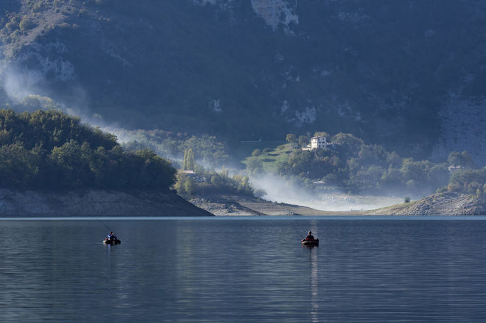 Lago Del Salto Landscape Autunno  Autunno🍁🍁🍁 Autunno Autumn Colors Colori Landscape Paesaggio Pesca Nuvole Nebbia