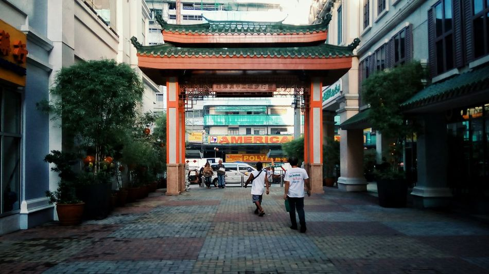Chinese Arch Arch Streetphotography Chinatown Red Manila Eyeem Philippines