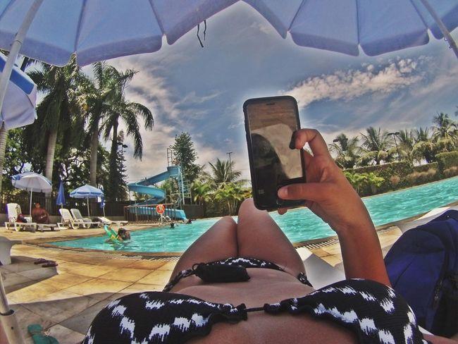 Gopro GoPro Hero3+ Summer CeuAzul Fotografiaamadora Piscina