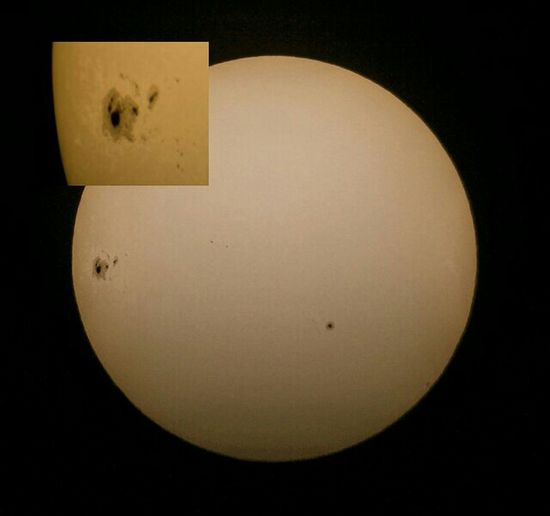 The Sun Sol Mark_huntr FlickrSunspots Sunspot Astronomy Astrophotography Telescope NEQ6 QUATTRO 8