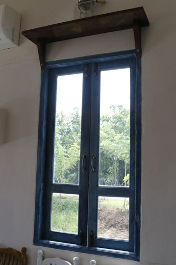 Architecture Built Structure Casements Day Door Indoors  Looking Through Window No People Window