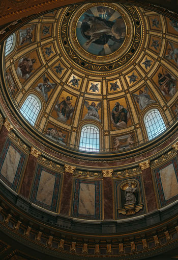 Travel Travel Photography Architectural Feature Architecture Architecture And Art Art And Craft Belief Building Built Structure Ceiling Cupola Dome Glass Indoors  Low Angle View Mural No People Ornate Place Of Worship Religion Spirituality Travel Destinations Window