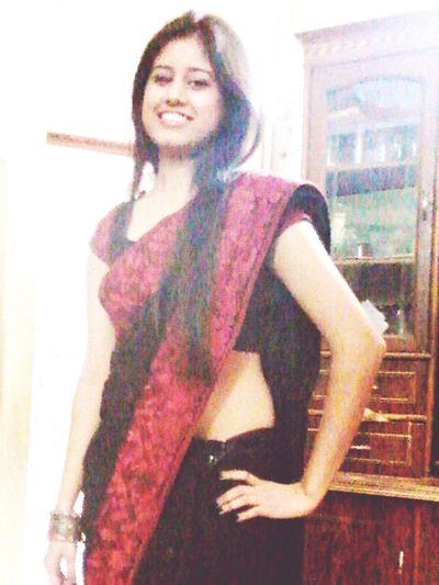 Indian Wear Hotlook.♡♡ Belly Model