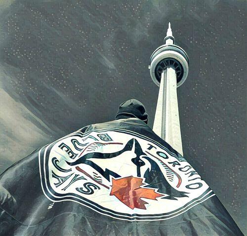 Toronto Canada CN Tower - Toronto TorontoBlueJays Maple Leaf Canada, Eh? Baseball ⚾ Happy183rdtoronto Outdoors Sky Home Sweet Home ♥ Bornandraised Canada