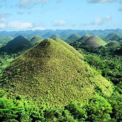 Amazing Chocolate Hills, Bohol, Philippines Chocolatehills , Bohol , Philippines