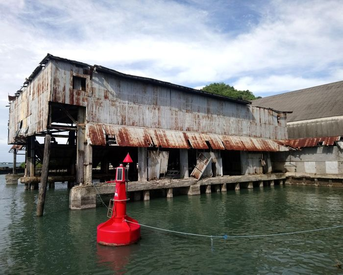 Wharf Built Structure Sea Sky No People