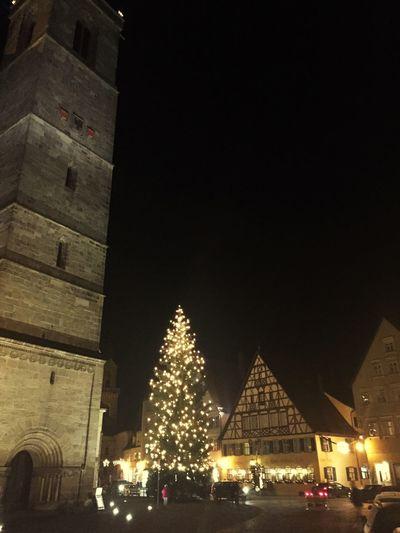 Christmas Tree in Dinkelsbuhl Germany🇩🇪