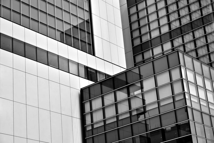 Architecture Backgrounds Building Building Exterior Built Structure City Day Full Frame Geometric Shape Glass - Material Low Angle View Modern No People Office Office Building Exterior Outdoors Pattern Reflection Shape Skyscraper Window