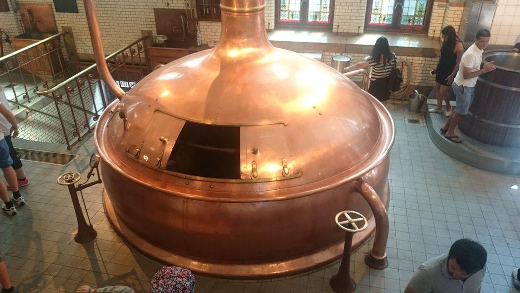 Visitando la Fábrica de la Cerveza Heineken en Amsterdam