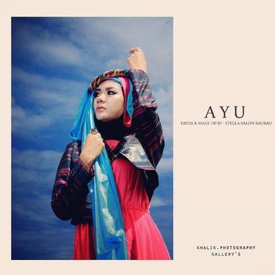 Hijab @ayupuspaningtyas (Putri Indonesia Sultra 2014) @fotonesia @modelnesia Fotonesia Fotonesia_member Modelnesia