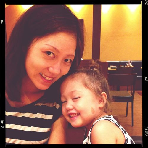 Rie and Mae.