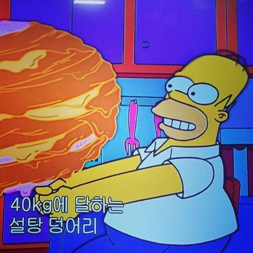 심슨타임 ㅋㅋ 일상 심슨 만화 심슨네가족들14