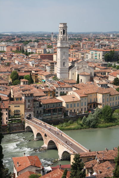 city of love Beautiful EyeEm Best Shots EyeEm Gallery EyeEmNewHere Historical Building Verona WOW Architecture Bridge - Man Made Structure Building Exterior Built Structure City City Lights Day Historic Building History Italian_city Italy No People Old Buildings Outdoors River Sky Travel Destinations Water