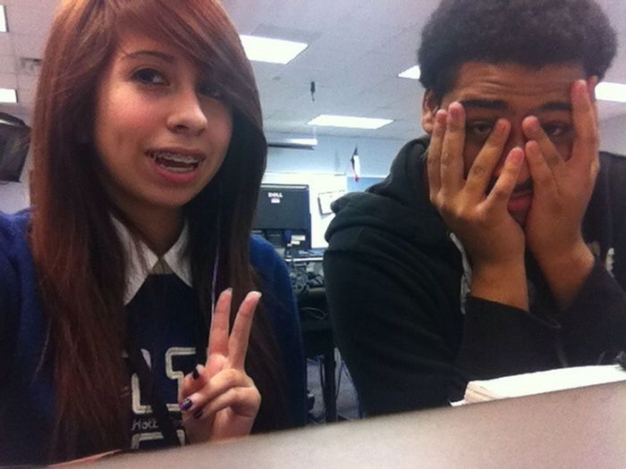 Me & my friend c: