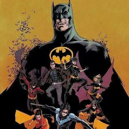 Batman Nightwing Robin Batgirl redhood redrobin