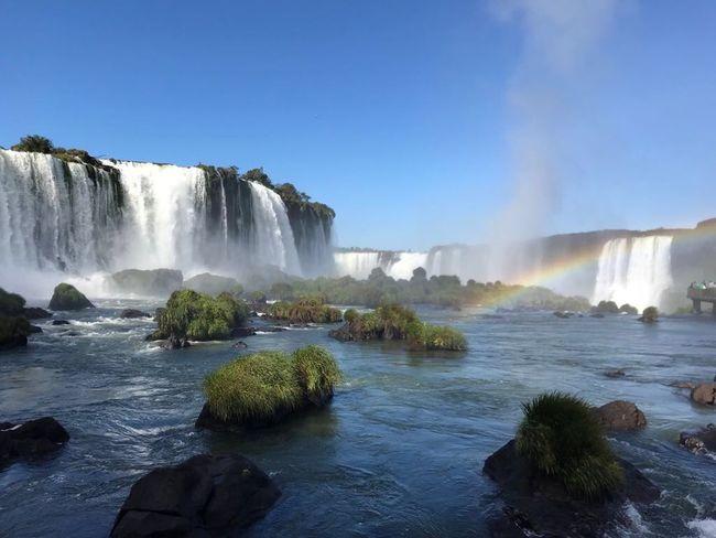 Waterfall Beauty In Nature Motion Splashing Nature