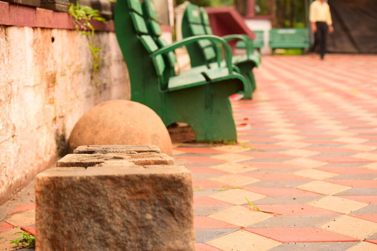 Nikon Nikonphotography Nikonphotographer Nikon D3300 D3300 Park Wood - Material Tiled Floor Plant Climber Stone Stone Material Stone - Object Plant Carved Stone Stone Material Bench Park Bench Green Color EyeEmNewHere Historic Wooden