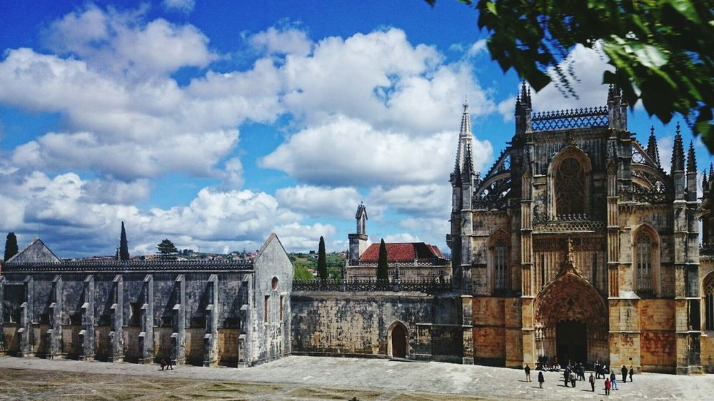 Unesco World Heritage Batalha Unesco World Heritage City When You Stand Part Of History Clouds And Sky Architecture Architectural Detail Architecturelovers Church Exploring New Ground