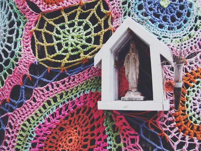 Millennial Pink Art And Craft No People Religion Spirituality Sculpture Day Place Of Worship Outdoors Statue Close-up Art Is Everywhere The Street Photographer The Great Outdoors - 2017 EyeEm Awards The Street Photographer - 2017 EyeEm Awards