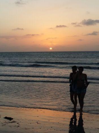 Despedida Samsungphotography Samsung Galaxy A5 Samsunga5 Sinfiltro Obrigado Sunset Beach Sea Reflection Sun Sand Silhouette Water Horizon Over Water Sky Nature Tourism EyeEmNewHere An Eye For Travel
