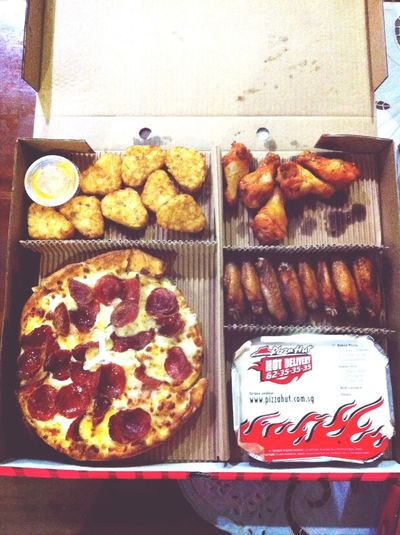 Pizza Hut!