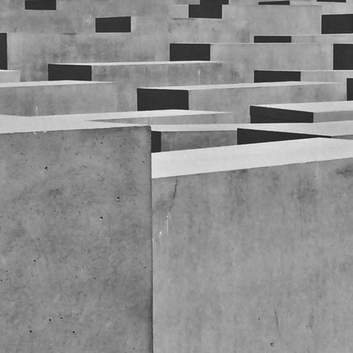 Berlin Holocaust Memorial Concrete Concrete Jungle