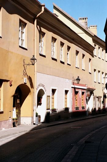 Vilnius Travel Travel Destinations City Arch Street Building Exterior Architecture Outdoors Vacations No People Day
